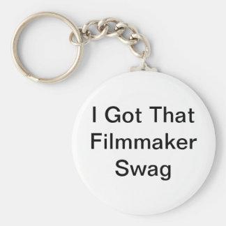Porte-clés J'ai obtenu ce porte - clé de butin de cinéaste