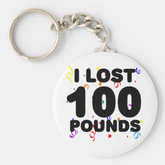 Porte-clés J'ai perdu 100 livres de partie