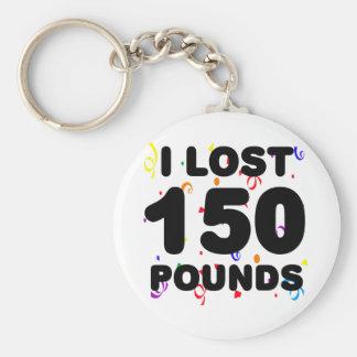 Porte-clés J'ai perdu 150 livres de partie