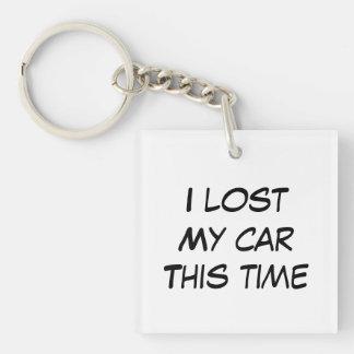 Porte-clés J'ai perdu ma voiture cette fois