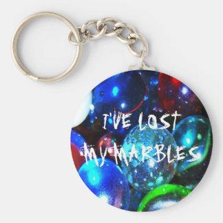 Porte-clés J'ai perdu mon porte - clé de marbres