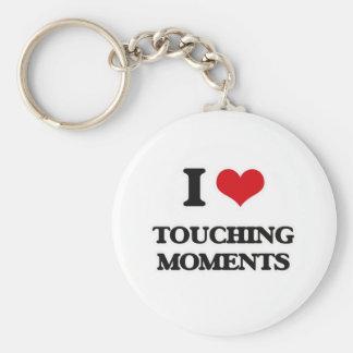 Porte-clés J'aime des moments émouvants