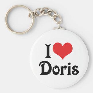 Porte-clés J'aime Doris