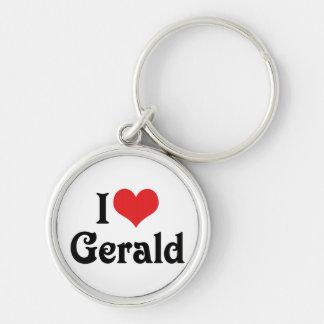 Porte-clés J'aime Gérald