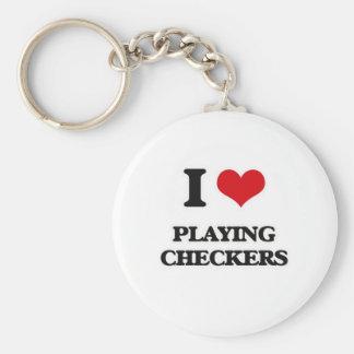 Porte-clés J'aime jouer des contrôleurs