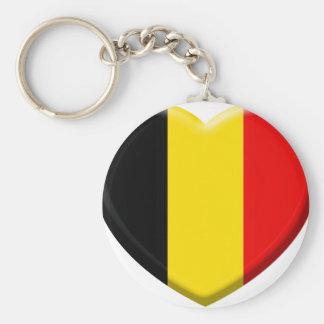 Porte-clés j'aime la Belgique