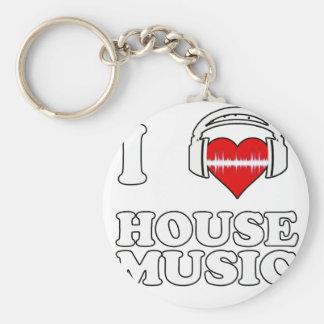 Porte-clés J'aime la musique de Chambre
