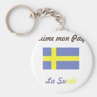 Porte-clés J'aime la Suède.jpg
