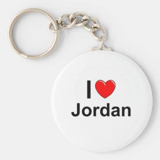 Porte-clés J'aime le coeur Jordanie
