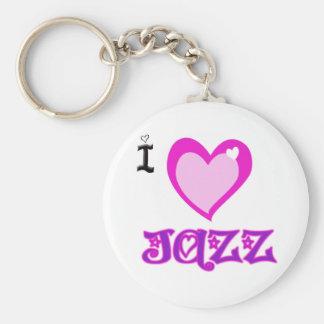 Porte-clés J'AIME le jazz