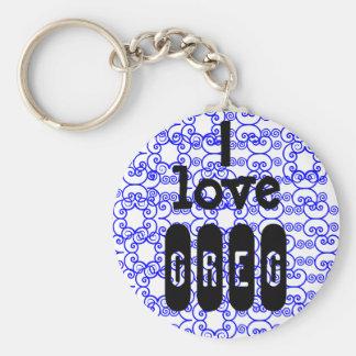 Porte-clés J'aime le porte - clé de *name