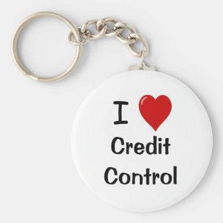 Porte-clés J'aime l'encadrement du crédit - encadrement du cr