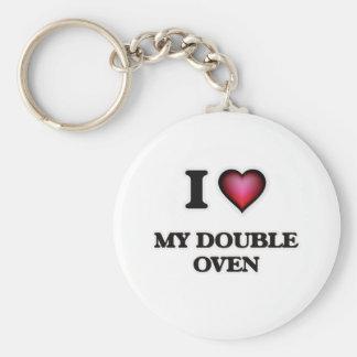 Porte-clés J'aime mon double four