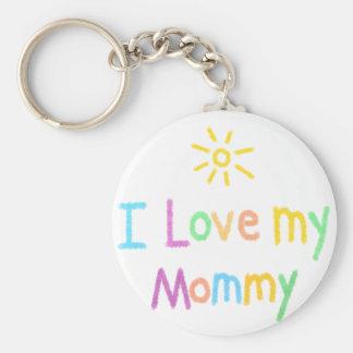Porte-clés J'aime mon porte - clé de maman