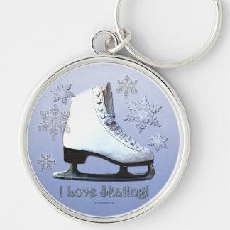 Porte-clés J'aime patiner