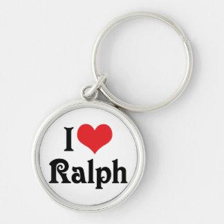 Porte-clés J'aime Ralph