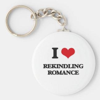 Porte-clés J'aime se rallumer Romance