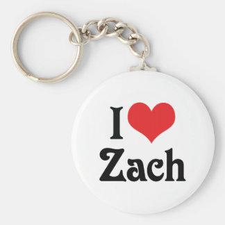 Porte-clés J'aime Zach