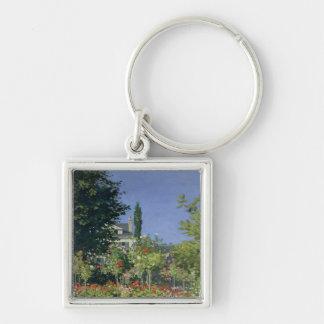 Porte-clés Jardin fleurissant de Claude Monet | chez
