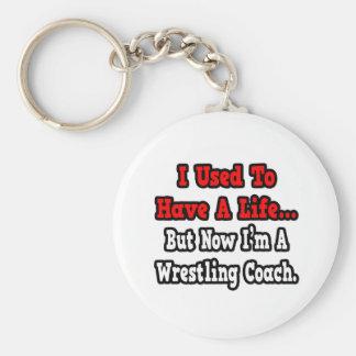 Porte-clés J'avais l'habitude d'avoir un entraîneur de lutte