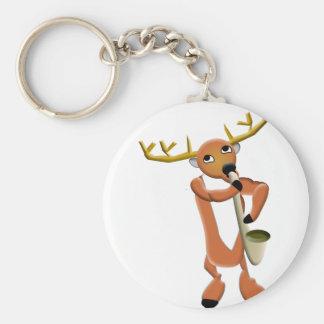 Porte-clés Jazz de renne