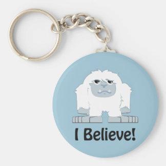 Porte-clés Je crois ! Yeti mignon