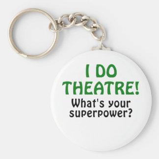 Porte-clés Je fais le théâtre ce qui est la votre