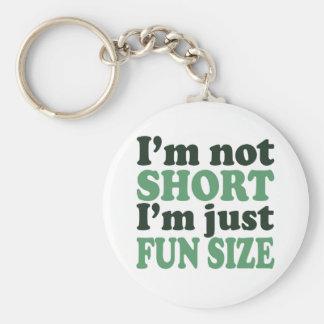 Porte-clés Je ne suis pas court - juste amusement Size~