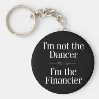 Porte-clés Je ne suis pas le danseur