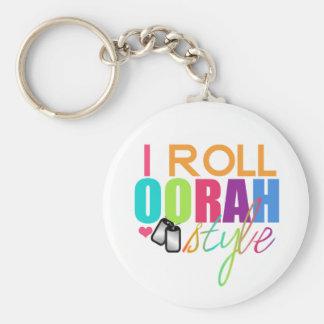 Porte-clés Je roule le porte - clé de style d'OORAH