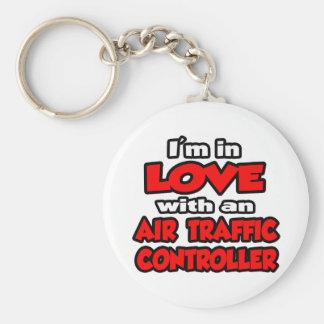 Porte-clés Je suis dans l'amour avec un contrôleur de la