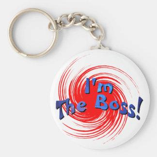 Porte-clés Je suis le patron