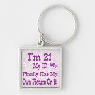 Porte-clés Je suis porte - clé de 21 identifications
