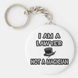 Porte-clés Je suis un avocat… pas un magicien