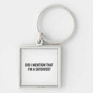Porte-clés Je suis un parachutiste
