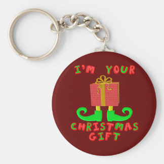 Porte-clés Je suis votre cadeau de Noël