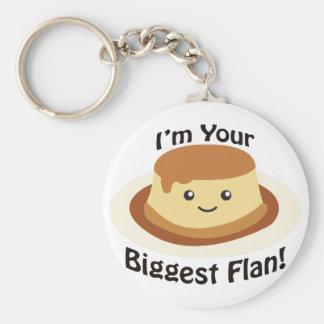 Porte-clés Je suis votre plus grand Flan