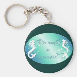 Porte-clés Je suis vraiment une sirène