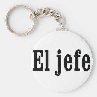 """Porte-clés Jefe d'EL """"le patron """""""