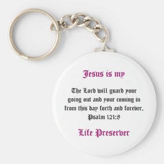 Porte-clés Jésus est mon porte - clé de conservateur de vie