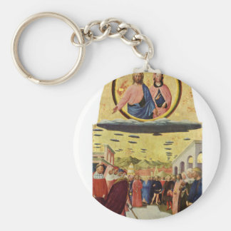 Porte-clés Jésus monte un UFO