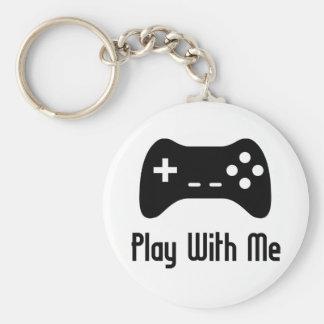 Porte-clés Jeu avec moi jeu vidéo