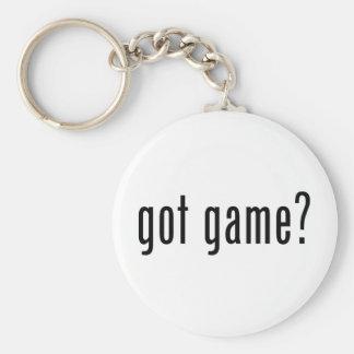 Porte-clés jeu obtenu ?