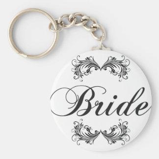 Porte-clés Jeune mariée
