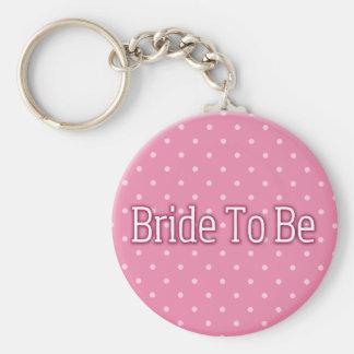 Porte-clés Jeune mariée à être