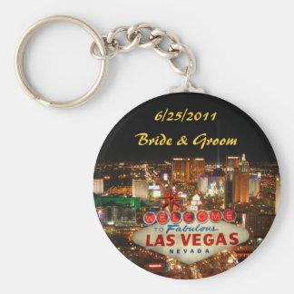 Porte-clés Jeune mariée de bande de Las Vegas et porte - clé