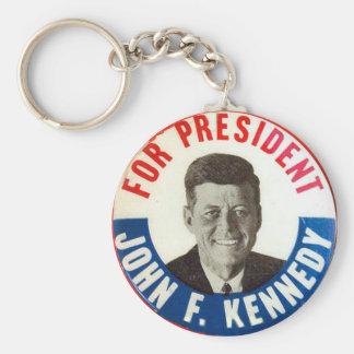 Porte-clés JFK pour le président - porte - clé