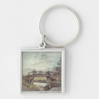 Porte-clés John Constable | un pont au-dessus du Stour