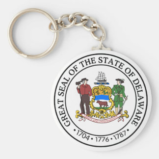 Porte-clés Joint d'état du Delaware -