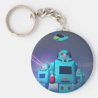 Porte-clés Jouet Robos sur le porte - clé d'attaque